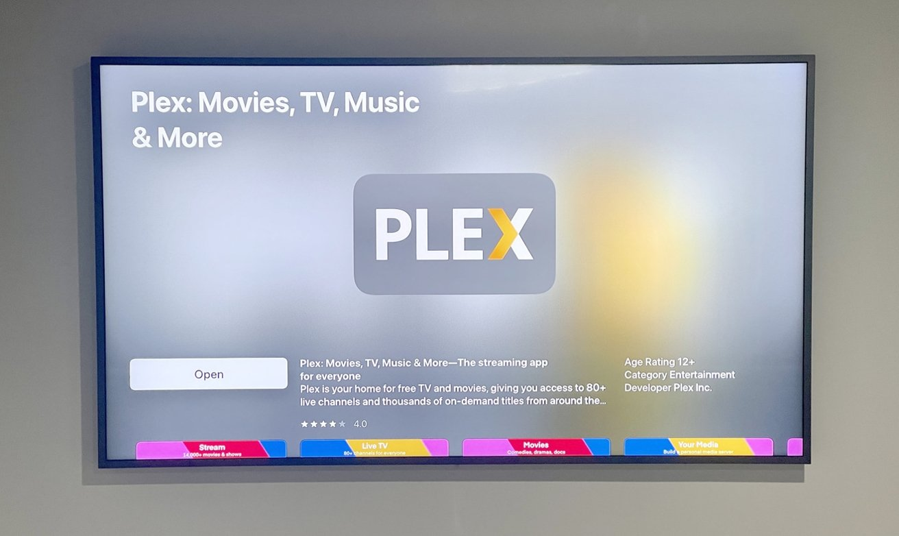 If you have an Apple TV, it is advisable to get the Plex app for it if you set up your own Plex Media Server.