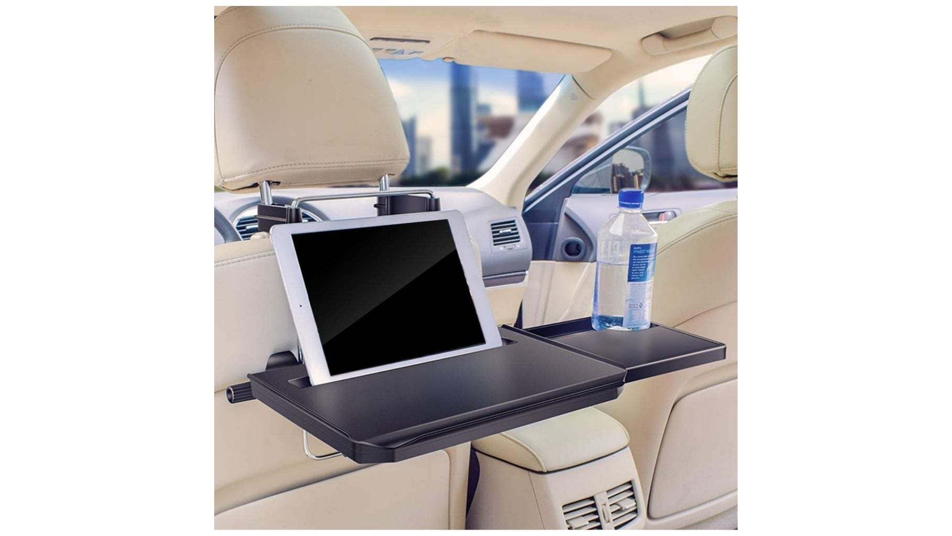 elfant car desk extendable tray