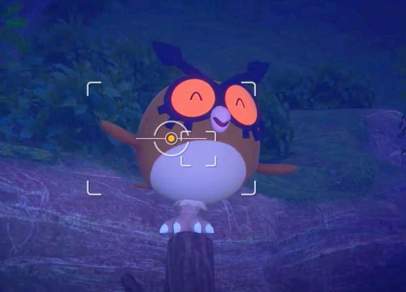 New Pokemon Snap Hoot Hoot Melody