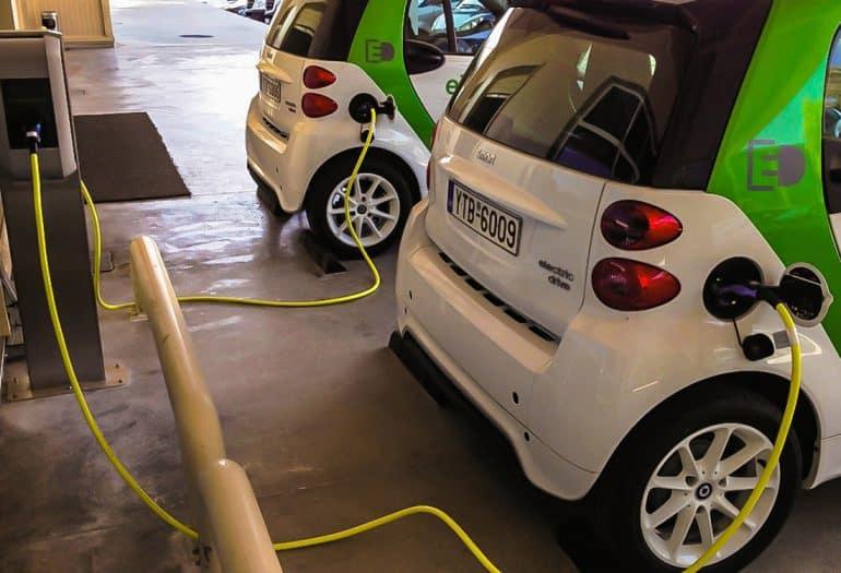 EUROSOL EUROSOL RES Powered Electric Vehicle Charging Station, Greece.