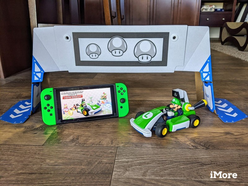 Mario Kart Live Luigi Switch And Gate