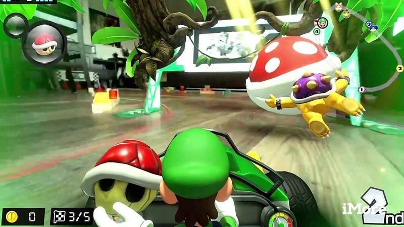 Mario Kart Live Luigi Red Shell Piranha Plant