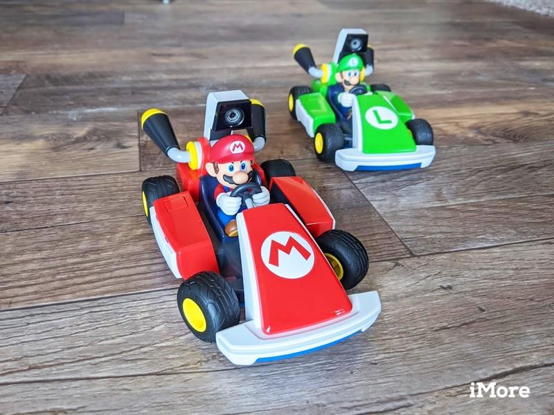 Mario Kart Live Mario And Luigi Facing Forward