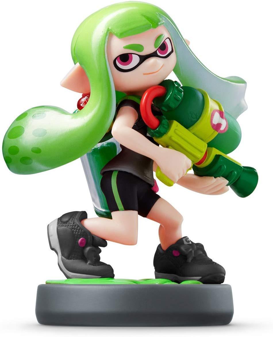 Amiibo Inkling Girl Green