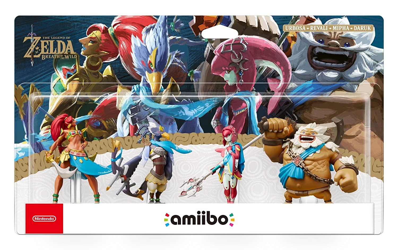 The Legend Of Zelda Breath Of The Wild Champions Amiibo