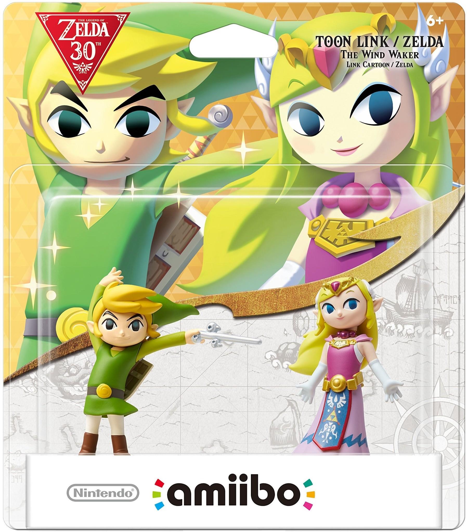 Toon Link and Zelda