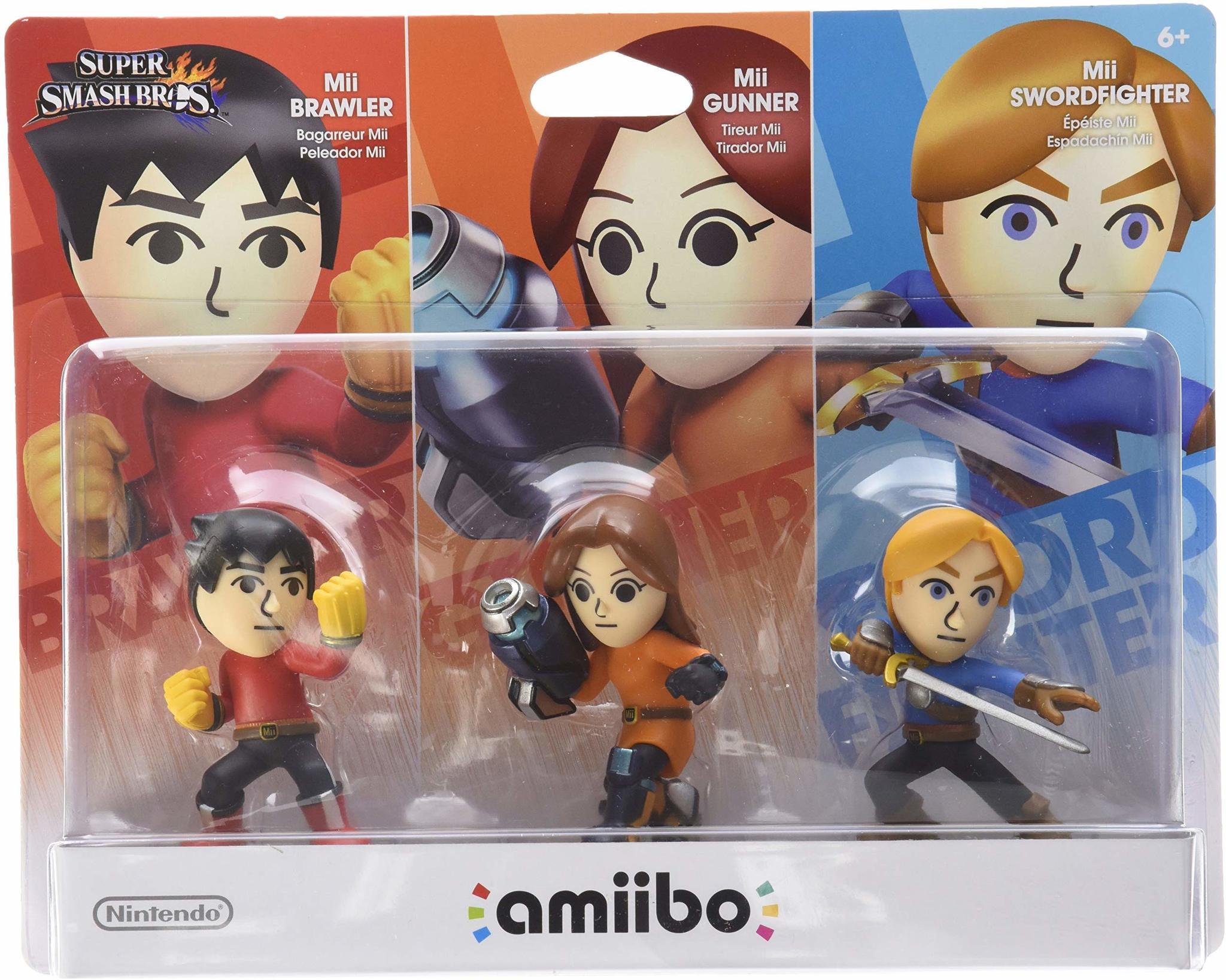 Amiibo Mii 3 Pack
