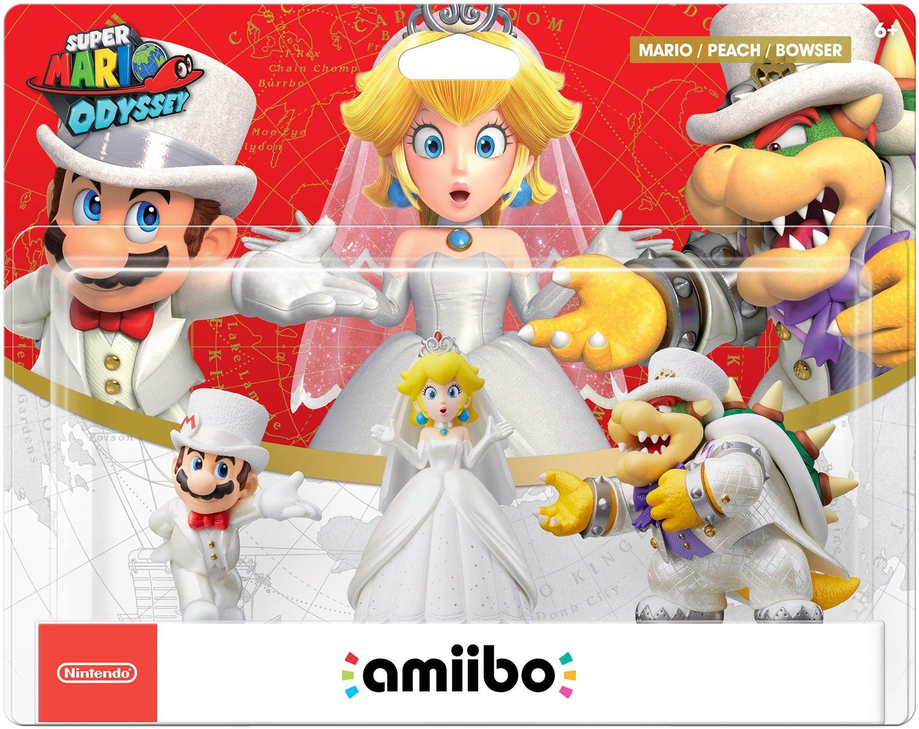 Wedding Triple Pack Mario Peach Bowser