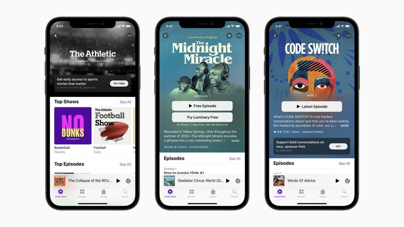 Apple Podcasts Subs Iphone