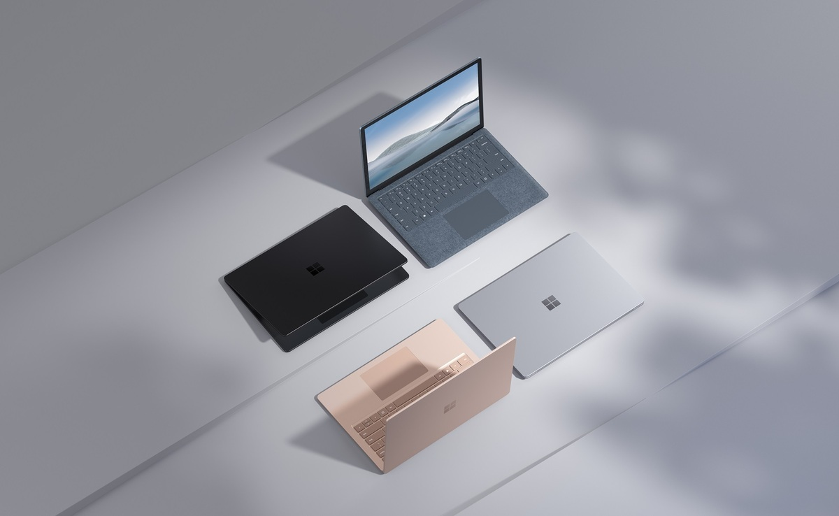 Microsoft surface laptop 4 family resized