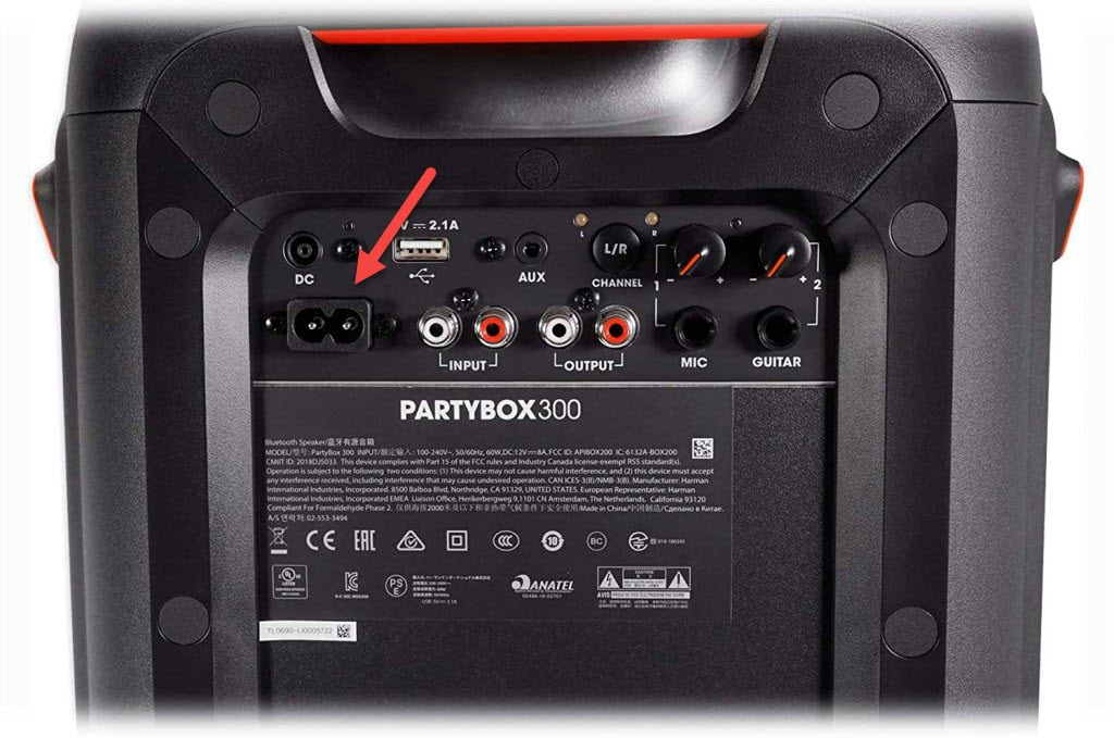 Fix JBL Partybox 300 Will Not Charge Problem