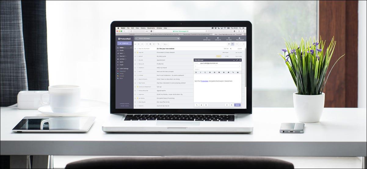 ProtonMail Dashboard