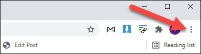 click the menu icon