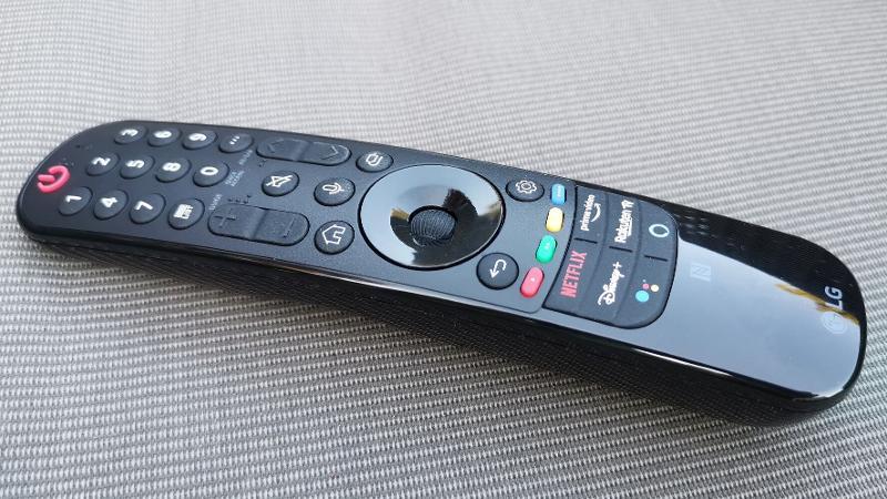 LG G1 OLED 2021 Magic Remote