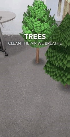 Snapchat, Google & Verizon Highlight Humanity's Impact on the Environment with AR for Earth Day
