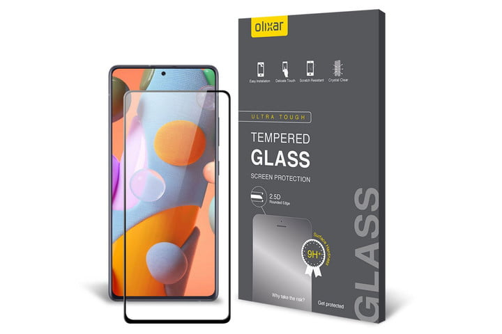 Olixar Tempered Glass Screen Protector for Samsung Galaxy A72