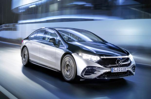 Revealed: the Mercedes EQS is said to have a range of 770km