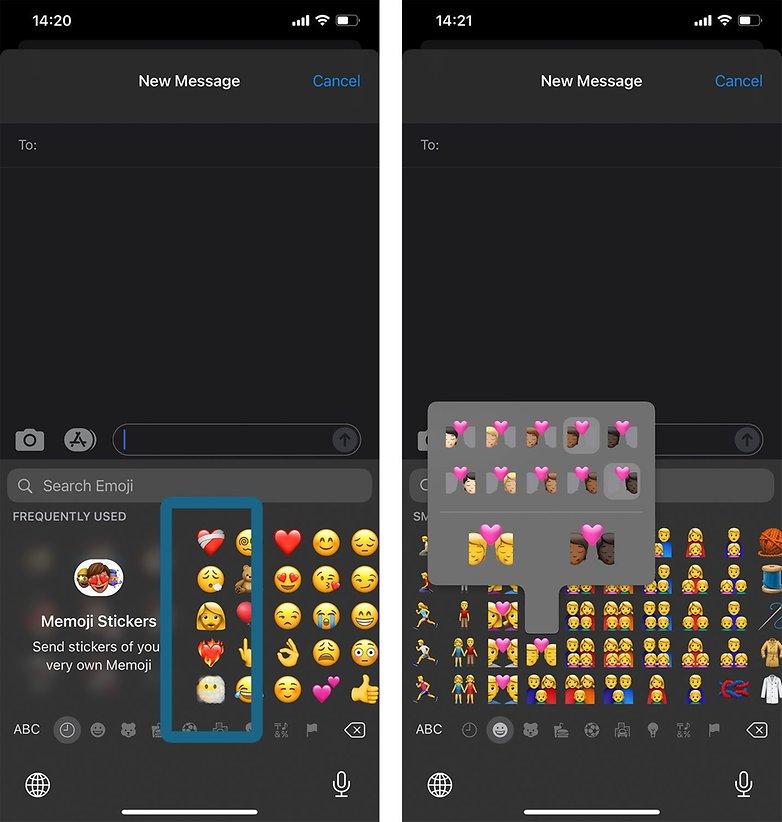Emojis iOS 14 5