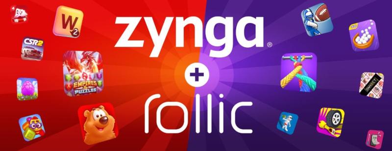 Zynga is buying 80% of Rollic for $168 million.