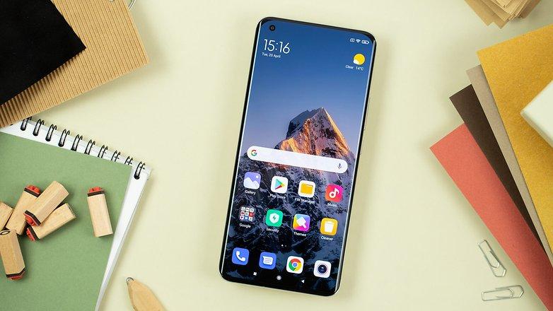 NextPit Xiaomi Mi 11 Ultra display