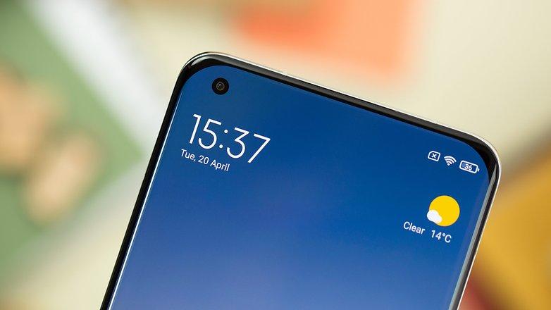 NextPit Xiaomi Mi 11 Ultra front camera
