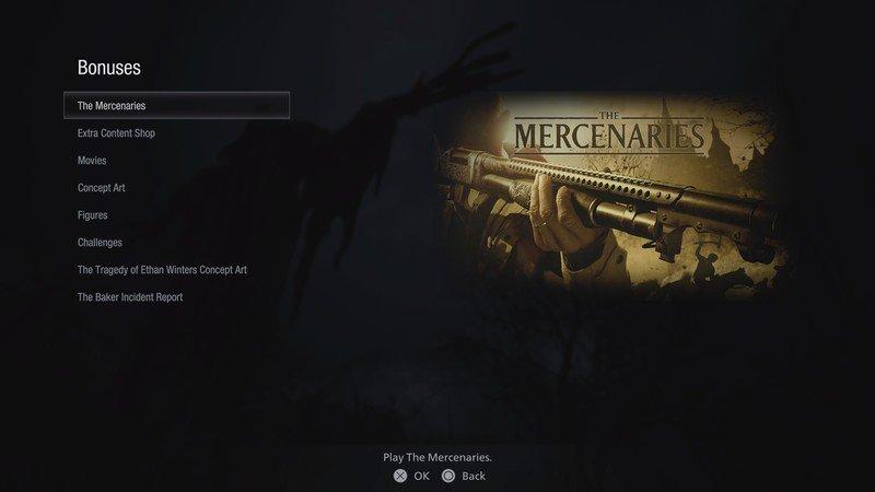 Resident Evil Village The Mercenaries Game Mode