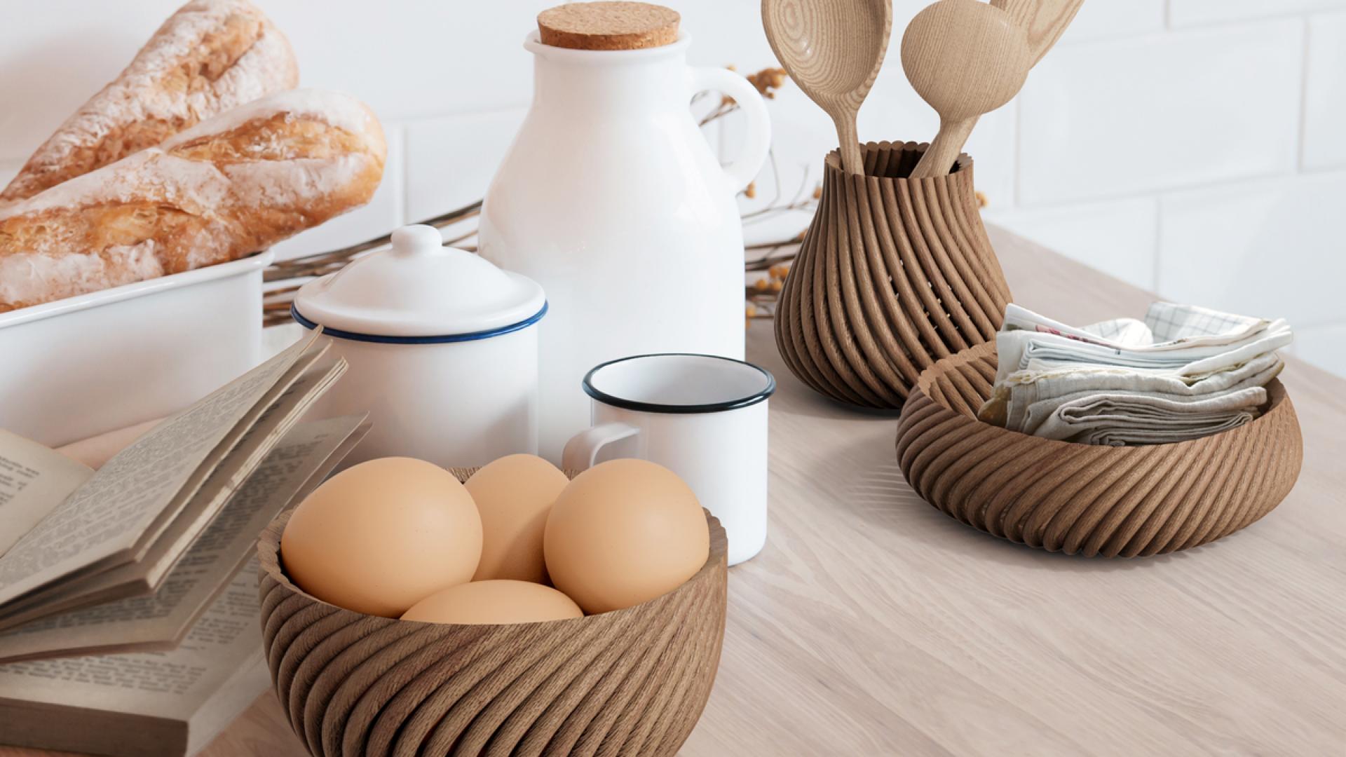 Forust 3D printed wood