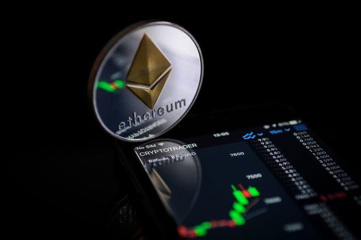 Ether Cryptocurrency Coin