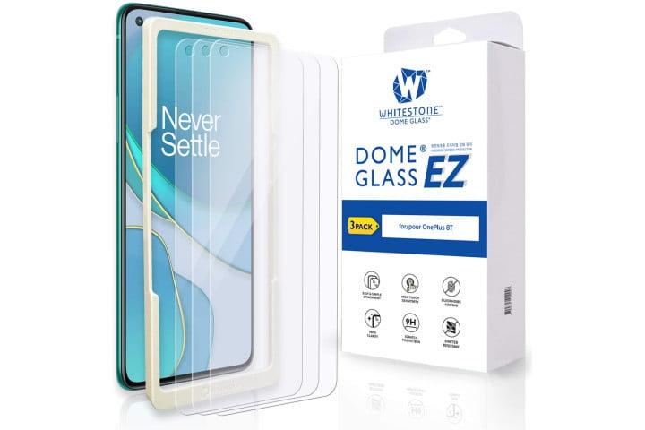 Whitestone Dome Glass EZ Screen Protector for OnePlus 8T