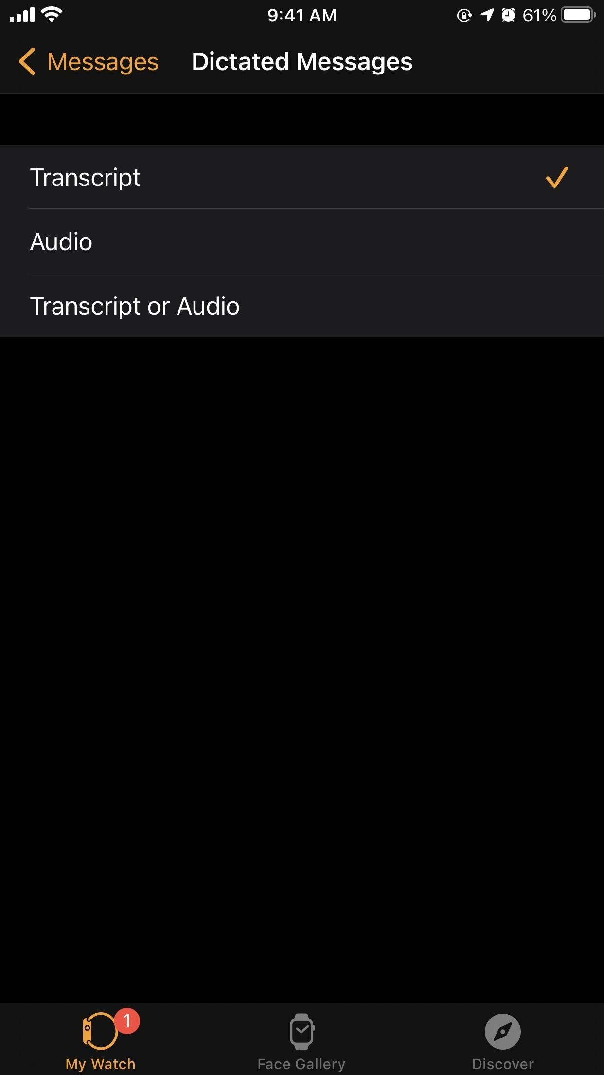 How to Send Audio Messages on Your Apple Watch Instead of Transcribed Text