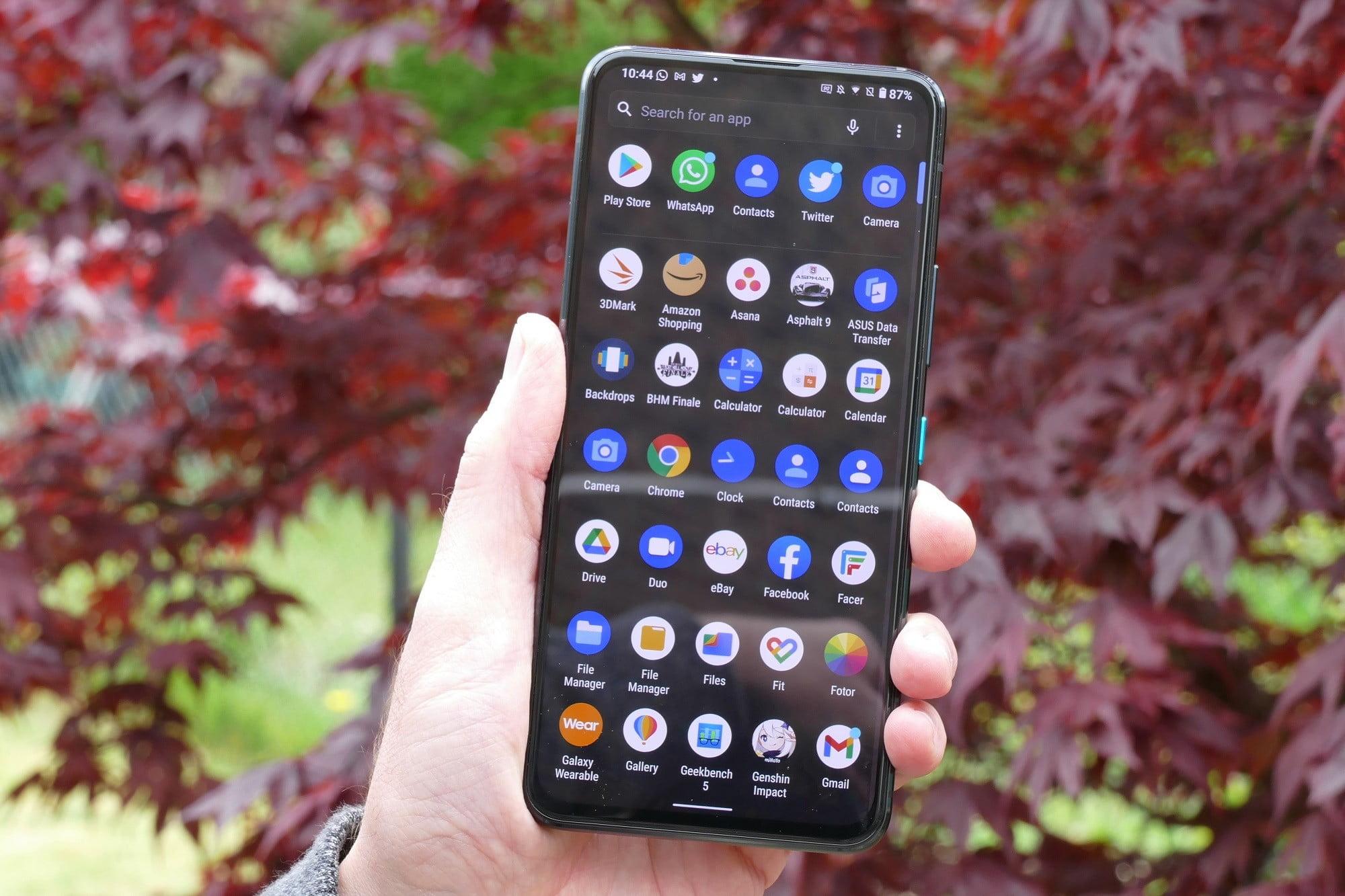 asus zenfone 8 flip review apps
