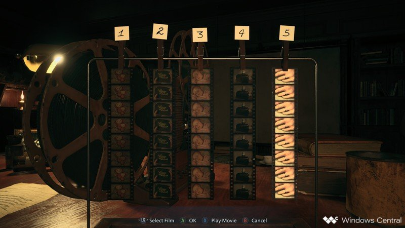 Resident Evil Village Film Puzzle