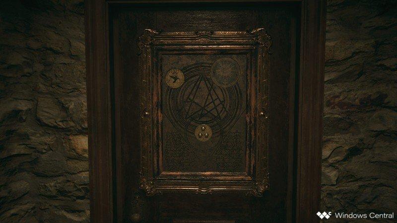 Reisdent Evil Village Medallion Door