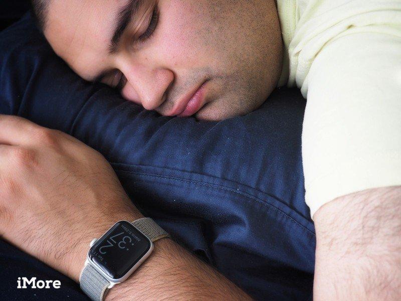 Apple Watch using Sleep app