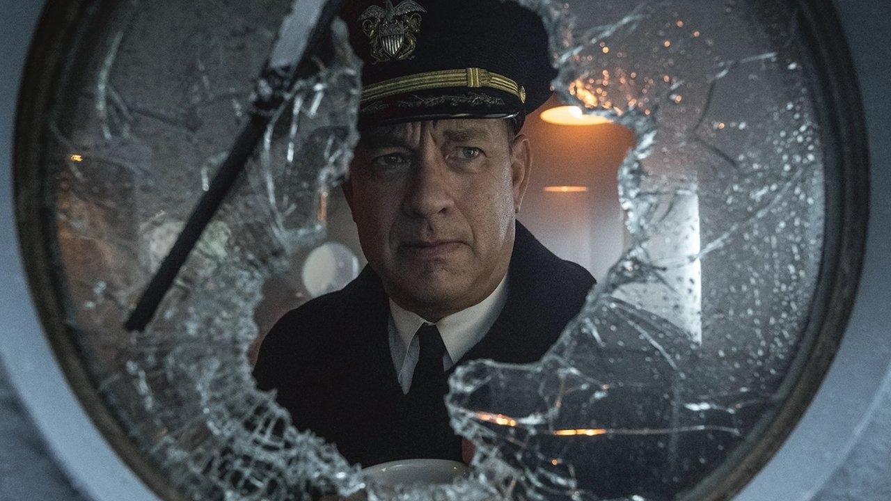 Hanks in the Oscar-nominated Apple TV+ film 'Greyhound'
