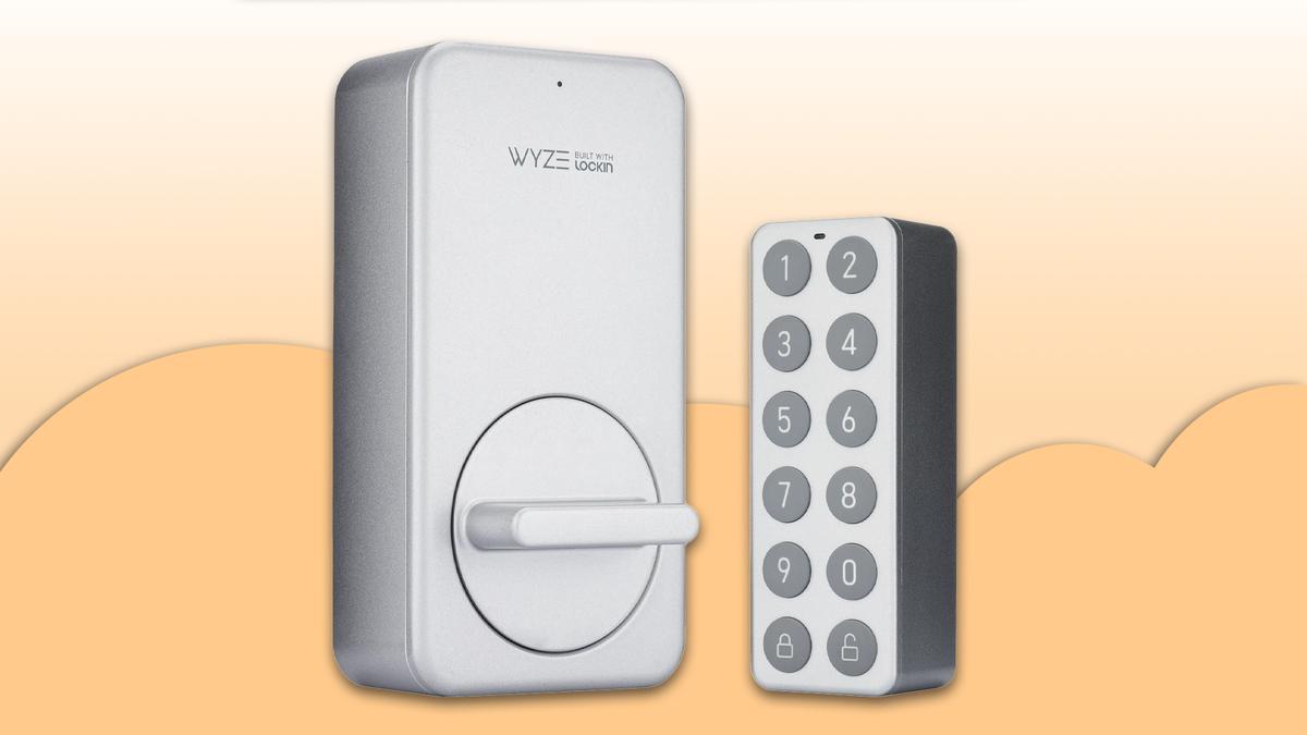 The Wyze Lock and Keypad.