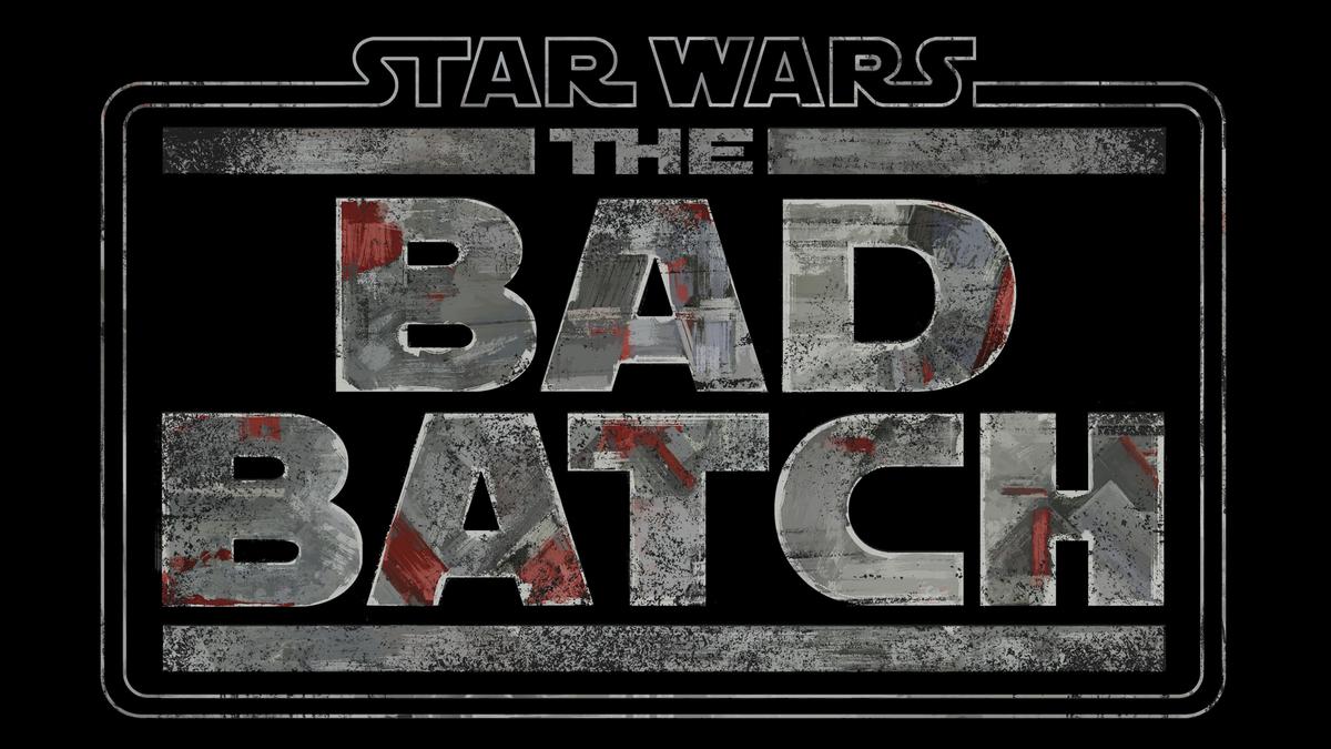 Disney+'s 'The Bad Batch' logo on black background