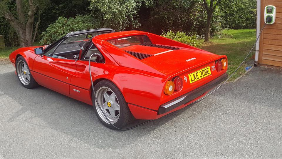 Ferrari 308 GTSi EV conversion
