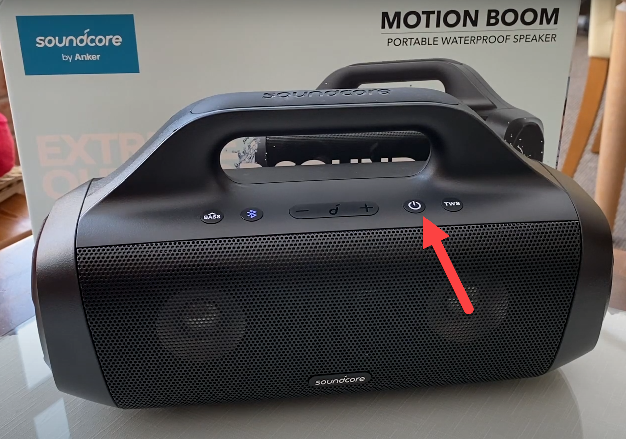 Anker Soundcore Motion Boom Bluetooth Not Working