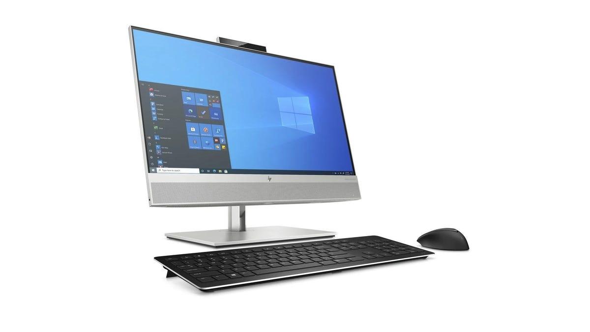 the HP EliteDesk 800 G8 on a white background