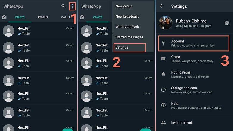 Delete WhatsApp 1
