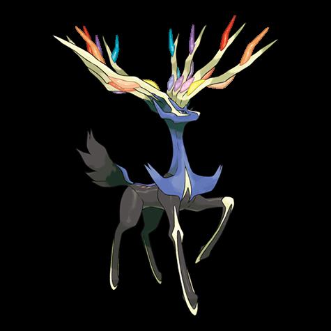 Pokemon 716 Xerneas