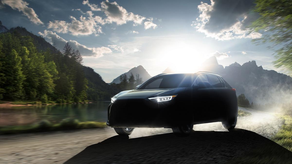 Subaru's new electric SUV, the Solterra