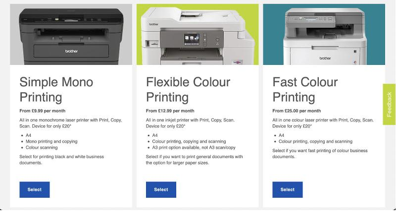 Best printer subscription service: Brother EcoPro