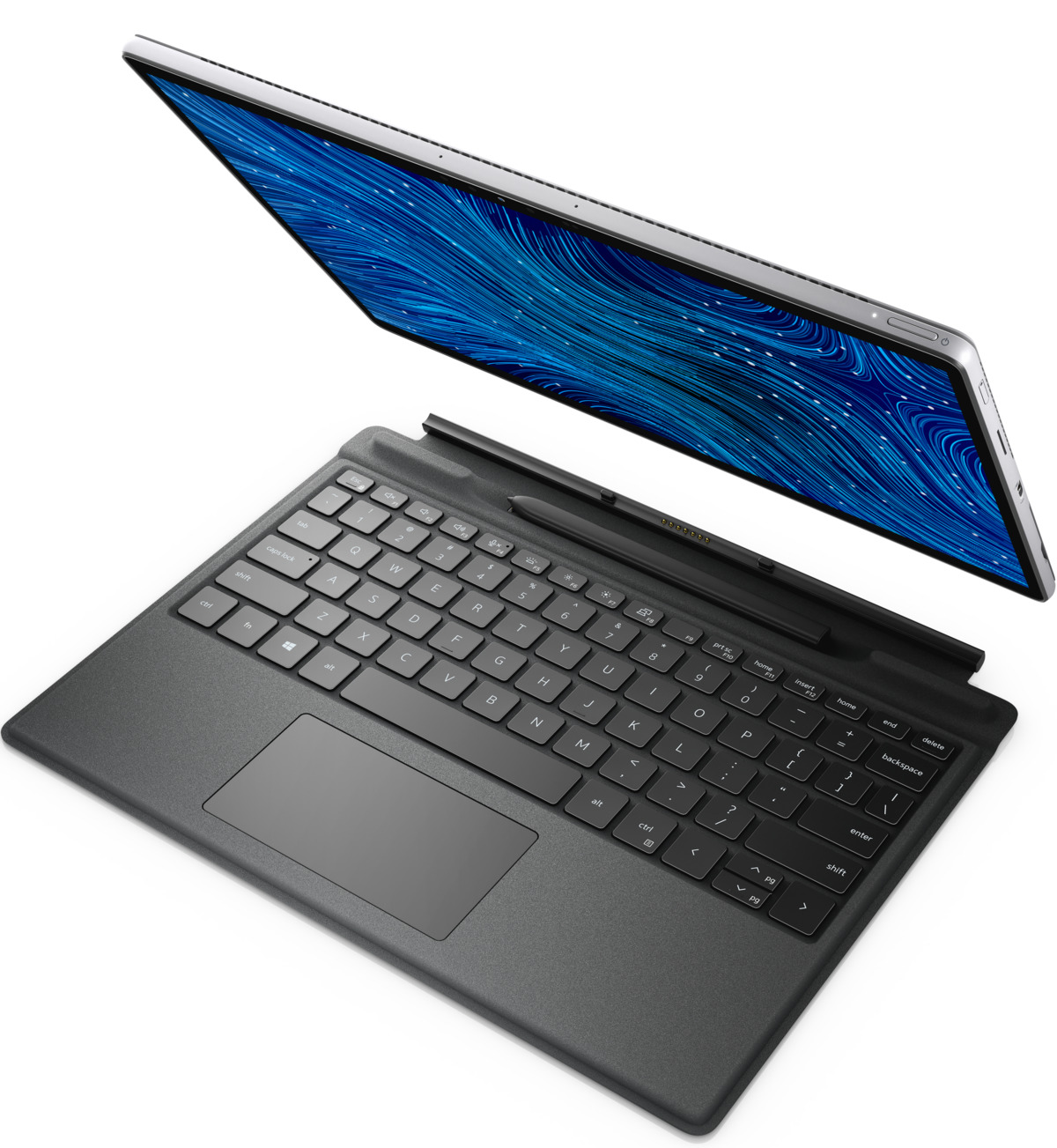 dell latitude 7320 detachable keyboard detached