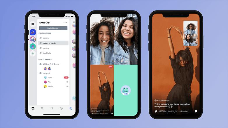 Discord Mobile Screen share