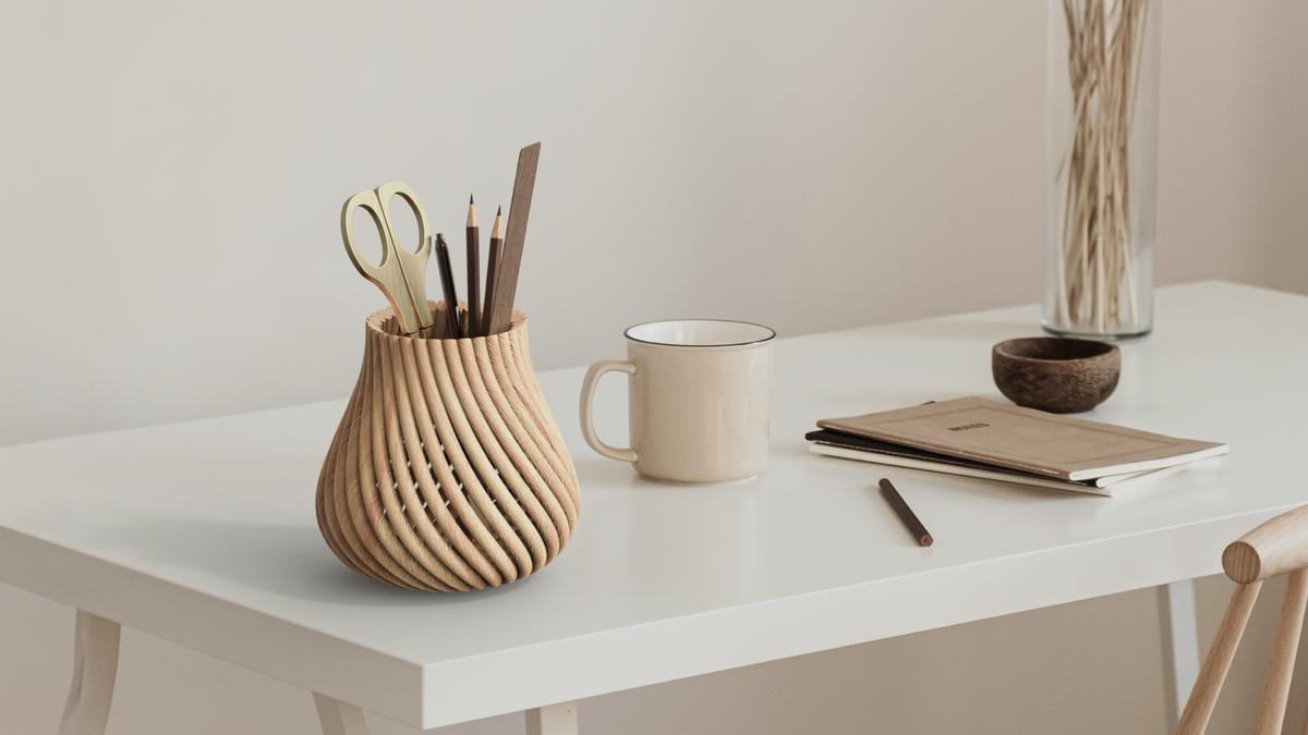 desktop metal 3d printed wood