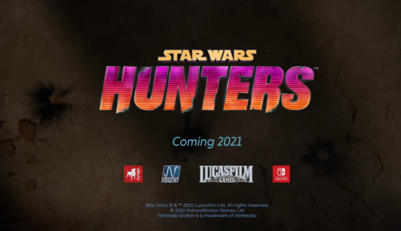 Star Wars Hunters is a video game.