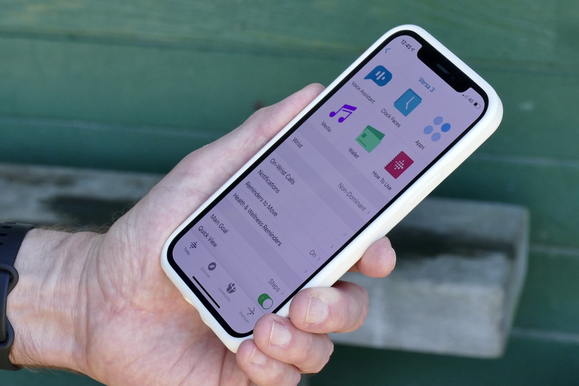 fitbit versa 3 review app watch settings