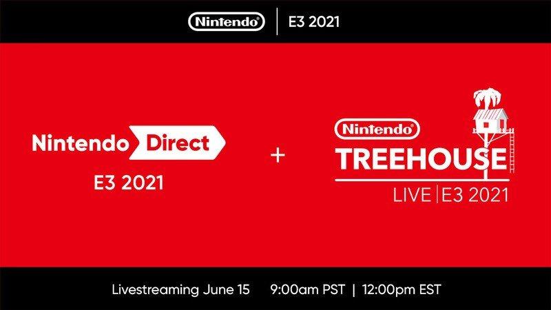 E3 2021 Nintendo Copy